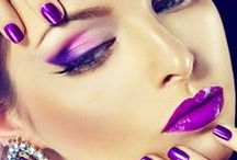 Purple Printed ✿ / ~ ✿ Purple and prints with purple. For other colors; see my 1st account Delilah Smit ✿ ~