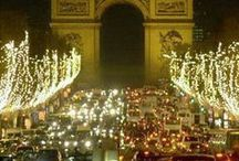 Christmas in Paris ✿ / ~ ✿ Explore the magic of Christmax in Paris in red and green colors.✿ ~