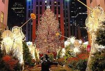 Christmas in New York ✿ / ~ ✿ A golden christmas in New York ✿ ~