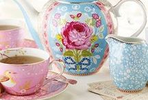 Tea with Pip Studio ✿ / ~ ✿ Tea with beautiful china, glasses, cushions and wallpapers from Pip Studio  ✿ ~