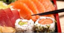"Travel | Japanese Food / ""Making sushi is an art, and experience is everything."" - Nobu Matsuhisa -"