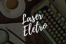 Laser Eletro / Criação de textos para layouts, spots, roteiros para comercial de TV e campanhas  Link dos comerciais veiculados da Laser Eletro: https://www.youtube.com/user/macedosuellen