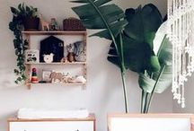 // Baby + Kids Rooms // / Decor and styling inspiration and ideas for the nursery, the playroom, kids' art spaces and girls' + boys' rooms.