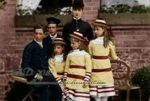 6 Children of Edward VII & Alexandra / 6 Children of King Edward VII (Albert Edward)  (1841-1910) Prince of Wales, UK & wife Princess Alexandra Caroline (1844-1925)  Denmark: 1. Albert Victor of Wales (1864-1892) 2. George V of Wales (1865-1936) (later King of Great Britian) 3. Louise, Princess Royal of Wales (1867-1931) 4. Victoria Alexandra of Wales (1868-1935) 5. Maud Charlotte of Wales (1869-1938) 6. Alexander John of Wales (1871-1871).