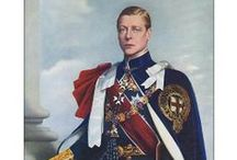 "UK Edward VIII 1st Child of George V & Mary of Teck / Edward ""David"" (Edward Albert Christian George Andrew Patrick David), Prince of Wales, then King Edward VIII (1894-1972) abdicated the English Throne to marry divorced American Wallis Simpson. 1st child of King George V (1865-1936) UK & Mary of Teck (1867-1953) Germany."
