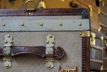 On the Case / Suitcases, hat boxes, and vintage travel gear / by Jessica Harmon