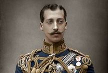"UK Albert Victor 1st Child Edward VII & Alexandra / Prince Albert Victor Christian Edward ""Eddy"" (1864-1892) Duke of Clarence & Avondale, UK was engaged to marry Mary Victoria of Teck (1867-1953) Germany before his death. 1st child of King Edward VII (1841-1910) UK & Alexandra (Alexandra Caroline Marie Charlotte Louise Julia ""Alix"") (1844-1925) Denmark. Grandchild of Prince Albert (1819-1861) & Queen Victoria (1819-1901)."