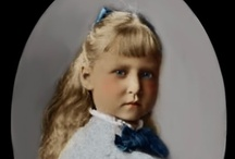 "Hesse Marie 7th Child Alice & Louis IV / Marie ""May"" (Marie Viktoria Feodore Leopoldine) (24 May 1874-16 Nov 1878) was the 7th Child of Princess Alice (1843-1878) UK & King Louis IV (1837-1892) Hesse, Germany. She died of diphtheria at the age of 4 & was buried with her mother, who died a few weeks later of the same disease. She & her maternal grandmother Queen Victoria shared the same birthday."