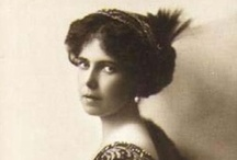 "UK:Beatrice 6th Child of Alfred & Maria / Princess Beatrice ""Baby Bee"" (Beatrice Leopoldine Victoria) (1884-1966) UK married Infante Alfonso (Alfonso María Francisco Antonio Diego) (1886-1975) Duke of Galliera, Spain.  Beatrice is 6th child of Prince Alfred (1844-1900) Duke of Edinburgh, UK & Germany & wife Maria Alexandrovna (1853–1920) Russia. Alfonso is 1st child of Infante Antonio (Antonio María Luis Felipe Juan Florencio) (1866-1930) Spain & Infanta Eulalia (María Eulalia Francisca) (1864-1958) Spain."