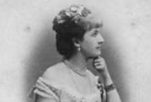Poland Alexandrine 2nd Wife Louis IV / Alexandrina Hutten-Czapska (Countess von Romrod) (3 Sep 1854-8 May 1941) Poland. 2nd wife of Louis IV (1837-1892) Hesse, Germany (widow of Alice (1843–1878) UK-annulled 1884, same year wed. Daughter of Count Adam Jozef Hutten-Czapsky & Countess Marianna Katarzyna Rzewuska. She married 1st Alexander von Kolemine of Russia & divorced in 1884. She married 3rd Baron Basil von Bacheracht (?-1916). Alexandrine's son by Louis IV was sent to Russia to his half-sister, the Tsar's wife Alix-Alexandra.