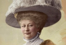 "Germany Auguste 1st Wife of Wilhelm II / Princess Augusta Viktoria ""Dona"" (Augusta Viktoria Friederike Luise Feodora Jenny) (1858-1921) Schleswig-Holstein, Germany. 1st wife 1881 of Wilhelm II (Frederick William Victor Albert) (1859–1941) German Emperor. They had 7 Children. She was 2nd child of Frederick 8 (Frederick Christian Augustus) (1829-1880) Duke of Schleswig-Holstein, Germany & Princess Adelheid (Adelheid Victoria Amalie Louise Maria) (1835-1900) Hohenlohe-Langenburg, Germany."