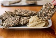 Appetizers - Dips, Snacks and Crackers - Vegan and Raw
