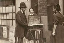 Bygone Professions - Back in the day / Jobs of old - vintage photographs of lost professions and employment from back in the day.