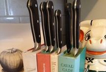 DIY Knife Storage / Having trouble with knife storage? Try these DIY hacks for a new type of knife block. / by Cutco Cutlery