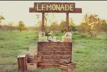 Lemonade Stand Ideas / by Coleen Balent