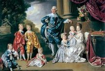 UK George III & Charlotte / King George III (George William Frederick) (4 Jun 1738–29 Jan 1820) King of UK & Ireland. Son of Frederick Louis (1707-1751) Prince of Wales, UK & Princess Augusta  (1719-1772) Saxe-Gotha-Altenburg, Germany. He married Princess Charlotte (Sophia Charlotte) (1744-1818) Mecklenburg-Strelitz, Germany & had 15 children: George IV, 	 Frederick, William IV, Charlotte, Edward, Augusta Sophia, Elizabeth, Ernest Augustus I, Augustus Frederick, Adolphus, Mary, Sophia, Octavius, Alfred & Amelia.