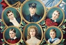 "6 Children George V & Mary / 6 Children of King George V (1865-1936) UK & Queen Mary ""May"" (1867-1953) Teck, Germany: 1. Edward VIII (1894-1972) 2, Albert (George VI) (1895-1952) 3. Mary (1897-1965) 4. Henry (1900-1974) 5. George (1902-1942) 6. John (1905-1919)."