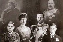 "Family George V & Mary of Teck / Family of King George V (George Frederick Ernest Albert) (1865-1936) UK & wife Mary ""May"" (Victoria Mary Augusta Louise Olga Pauline Claudine Agnes) (1867-1953) Teck, Germany."