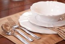 David Tutera Dinnerware / Create the perfect table with my dining and entertaining collection found on www.Walmart.com