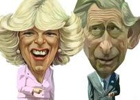 Couple Charles & Camilla / 2nd marriage of Prince Charles (Charles Philip Arthur George Windsor) (14 Nov 1948-living2015) Prince of Wales, UK in 2005 to Camilla Rosemary Shand (Parker Bowles-Windsor) (17 Jul 1947-living2015) UK after a long relationship while she was married to her 1st spouse Brigadier Andrew Henry Parker-Bowles & he was married to his 1st wife Princess Diana.