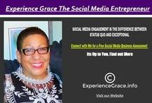 all things social media / Social Media is about engagement.  I am so engaged. ExperienceGrace.info  The Social Media Entrepreneur