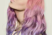 Fun hair coloring