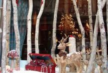 Birch Shops and Stores / Birch decorating for stores and shops