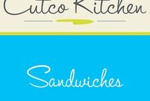 Cutco Kitchen Sandwiches / Cutco Kitchen's recipes for mouthwatering sandwiches. These recipes will help you for preparing your lunch decisions during the work week.