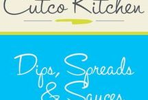 Cutco Kitchen Dips, Spreads & Sauces / Cutco Kitchen Drips, Spreads & Sauces recipes. These include anything and everything to go along with meals that you prepare.