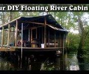 Floating River cabin