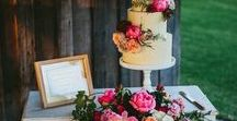 How To Show Off Your Wedding Cake / Brilliant ideas to make your wedding cake a real feature at your wedding.
