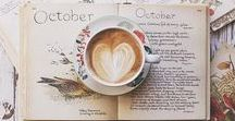 Kahve kitap keyfim / kahveyi sevenler için