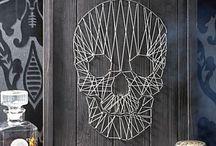 Skulls & skeletons / Interior, artwork & tattoos