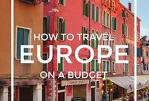 Europe travel / Discover the best travel tips for Europe, how to travel in Europe, what to see, Europe bucket list and how to save money for your next Europe travel. Best things to do in Europe, the ideal itinerary and Europe ultimate bucket list.
