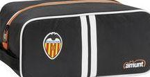 Valencia CF 2018 / Una colección 100% che con todos los #complementos, #mochilas, #estuches y #bolsos que necesitas para demostrar cuál es tu equipo favorito. #amunt #valenciacf