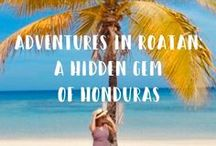 Honduras travel / Discover the best travel tips for Honduras, how to travel in Honduras, what to see, Honduras bucket list and how to save money for your next Honduras travel. Best things to do in Honduras, the ideal itinerary and Honduras ultimate bucket list.