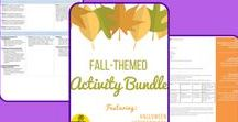Fall-Themed Activities / Collection of K-12 fall themed activities: ideas, inspirations, and Explore Science products!