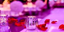 Tealights / Different designs of tealights used at our events.
