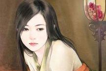 Asian art - Portraits