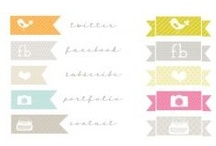 Free Social Networking Icons, Favicons, & Buttons / by Carolynn Reynolds