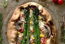 Pizza & Quiche / #Flammkuchen #quiche #pie