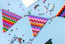 pixel & pattern / Muster ● motif ● hama beads / by reizenbee