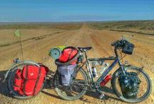 Touring & Bikepacking by Bicycle / Touring on a bicycle, on-road, off-road, sub-36 to years