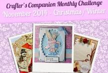 Monthly Challenge Inspiration / Here you will find inspiration from our International Challenge Team, created for our Monthly Challenges on Facebook!
