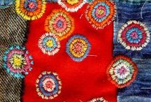 refashion : mending / refashion ● recycling ● upcycling ●● flicken ● rapiécer ● patch / by reizenbee