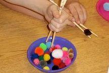 kids : indoor activities / Beschäftigung ● ergothérapie ● indoor activities ● rainy days / by reizenbee