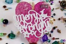 Die'sire Christmas Classiques Only Words / For sentiments with style, look no further than the fabulous Classiques range of festive word dies! With simple sentiments that will give the perfect finishing touch to your Christmas crafting projects, the range is available for just £5.99 per die!