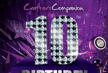 Crafter's Companion 10th Birthday Memories
