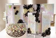 Create-a-Card Decorative Dies / Inspiration for your projects using the Create-a-Card Decorative Dies from Crafter's Companion.