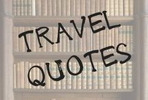 Travel | QUOTES / Hey there! Are you someone who needs a little motivation and inspiration to plan or take your next trip? Then you're in the right place. Enjoy some of the most inspiring travel and adventure quotes out there.  #travel, #quotes, #motivationalquotes